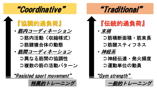 coordinative vs traditional